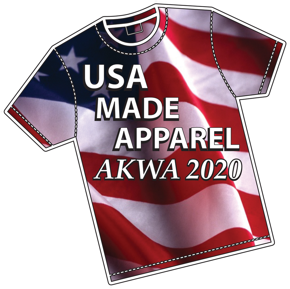 USA MADE APPAREL AKWA 2020