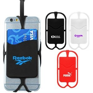 Silicone Phone Neck Wallet